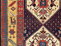 Azerbaijan--Caucasian-Weavings-The-Raoul-E-Tschebull-Collection