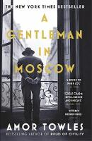 Gentleman in Moscow paperback